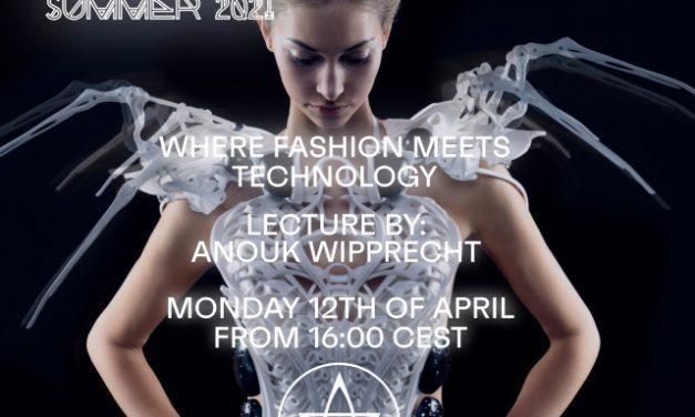 Přednáška Anouk Wipprecht na facebookové stránce UMPRUM