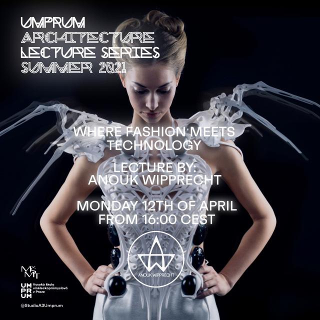 Zúčastněte se online přednášky Anouk Wipprecht pro UMPRUM