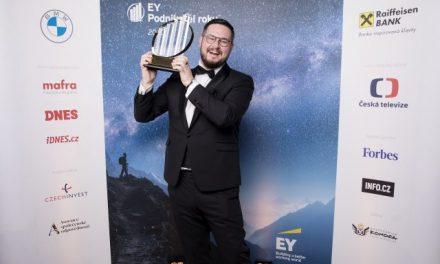 Prestižní titul EY Podnikatel roku 2020 České republiky získal Josef Průša