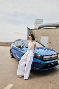 Modely z Ateliéru designu oděvu a obuvi inspirované vozidlem značky Škoda Auto