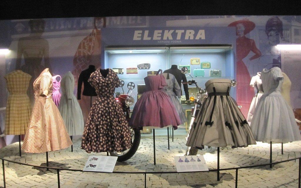 Výstava v muzeu věnovaná módě, která mě nejvíce zaujala