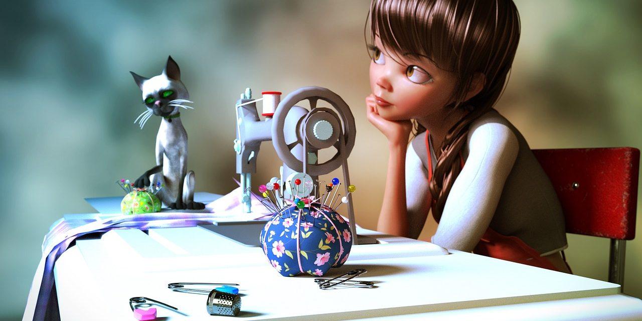 Zajímala vás móda a kreativní tvoření už v dětství?