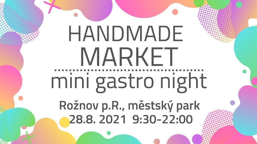 Handmade market - mini gastro night