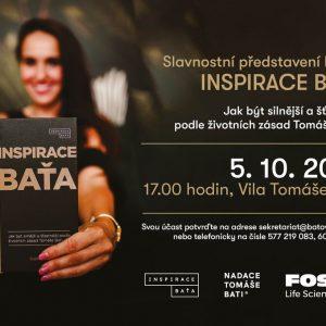 Slavnostní představení knihy Inspirace Baťa