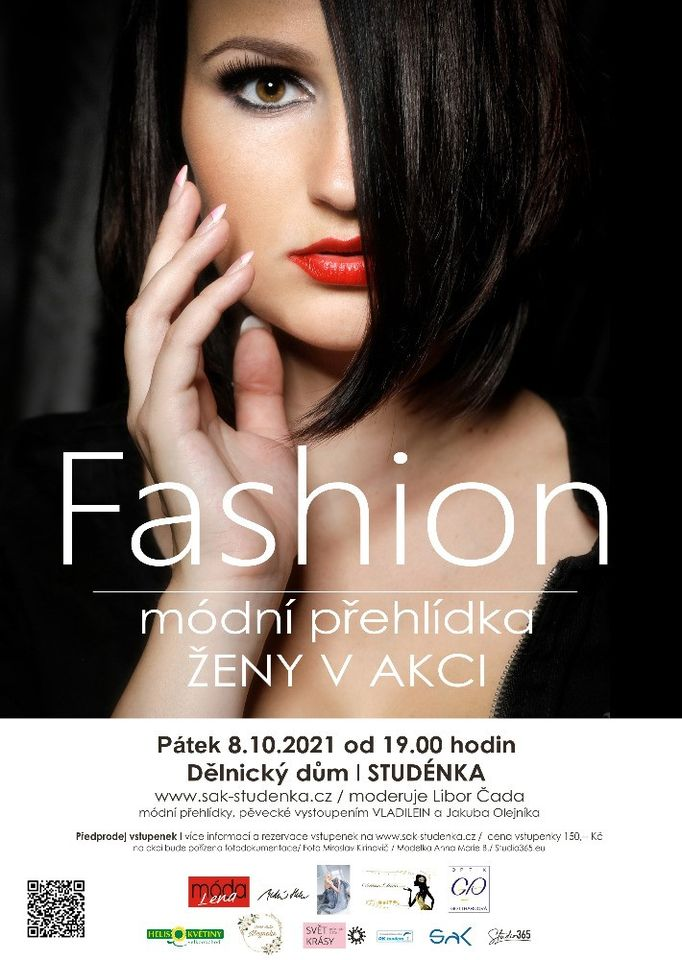Fashion - módní přehlídka - ŽENY V AKCI