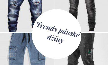 Pánové, džíny jsou základem šatníku. Pořiďte si letos výrazné džíny.